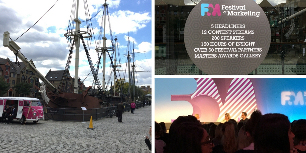 Festival of Marketing, Tobacco Dock, London